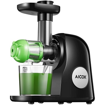 AICOK Juicer Extractor - Best Masticating Juicer For Ginger