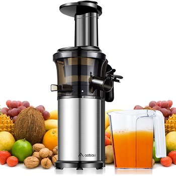 Aobosi Vertical Extractor - Best Affordable Juicer for Kale