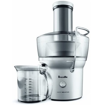 Breville Compact Juice Fountain - Best Centrifugal Juicer For Celery