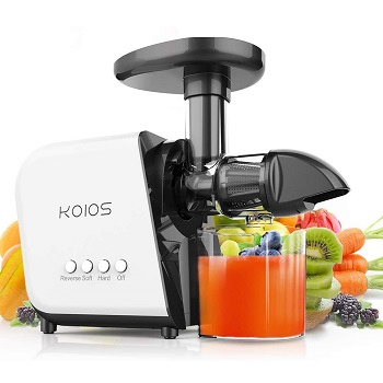 KOIOS Extractor Machine - Best Masticating Juicer for Kale