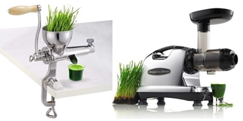 Which Wheatgrass Juicer is Better Manual or Electric