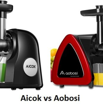 Aicok Slow Masticating Juicer Extractor vs Aobosi Featured